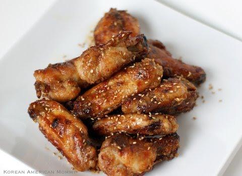 Korean American Mommy: Asian Baked Crispy Chicken Wings
