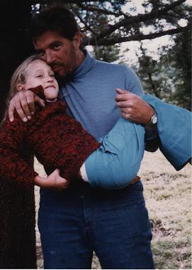 Aca estan Bubulina y su papa cca 1973