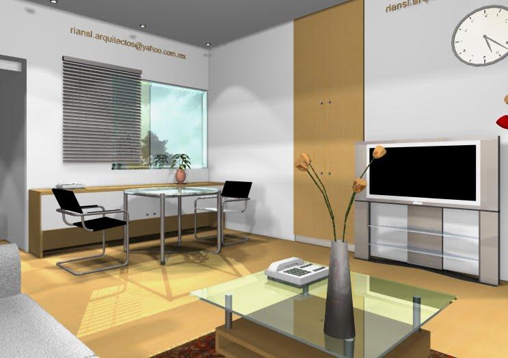 Visualizaciones Arquitectónicas en 3D, riansl.arquitectos, DISEÑO DE PLANOS ARQUITECTÓNICOS EN 3D