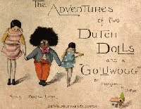 An early appearance of the golliwog in gallant mode