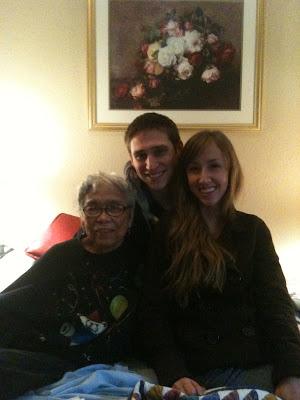 Grandma Susie, me, Trevor