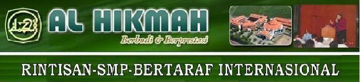 RSBI SMP AL HIKMAH - Fasilitas