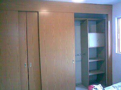 Closets dise os e ideas frentes de puertas para closet en for Ideas para puertas de closet
