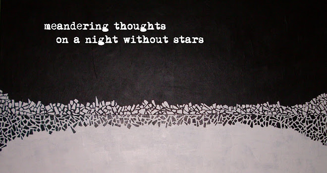 Meandering Thoughts On A Night Without Stars
