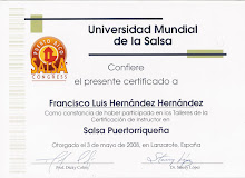 CERTIFICADO DE INSTRUCTOR DE BAILES LATINOS