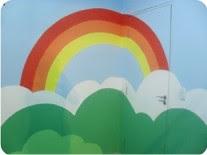 Pintura em sala para crianças