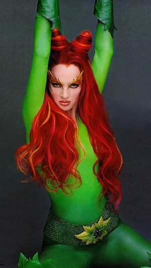 poison ivy costume makeup. Poison ivy may what makes this
