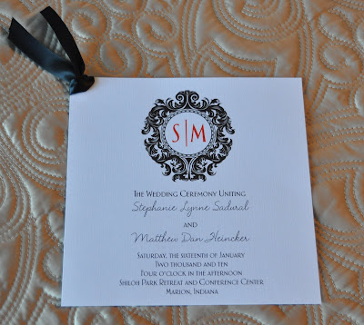 Layout Isabella Wedding Program Ink Color Black Paper Natural Linen