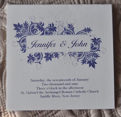 Layout Mary Wedding Program Ink Color Navy Paper Natural Linen