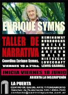 Taller de narrativa coordinado por Enrique Symns