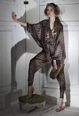 Lanvin 2009 2010 Sonbahar Kış Bayan Giyim