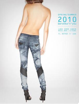 Bershka 2010 İlkbahar - Yaz Bayan Jean Modelleri