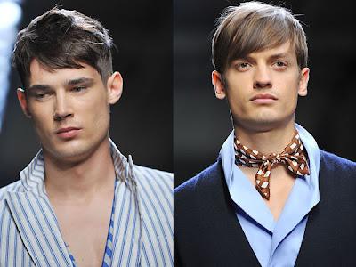 bottega veneta mens hair - 2009 Erkek Sa� Modas�