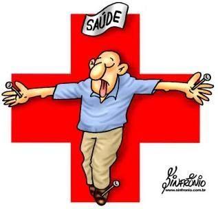 Ilustração da saúde pública