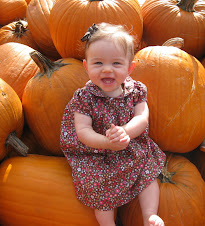 Hadley at pumpkin patch