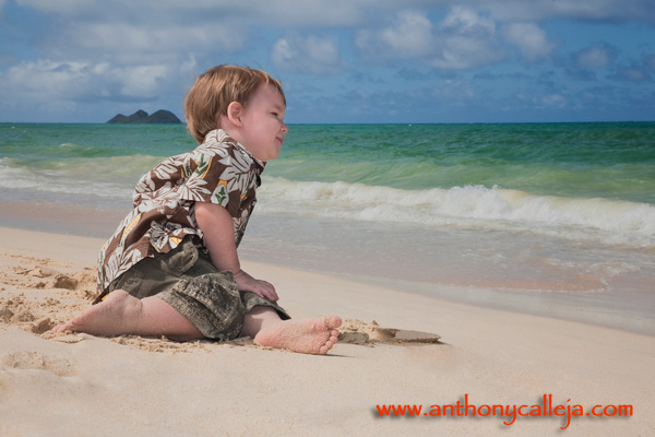 Hawaii Toddler Photography