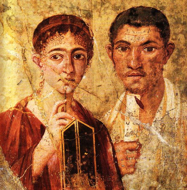 Roman Wall Painting Encaustic