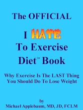 The OFFICIAL I Hate To Exercise Diet (tm) Book