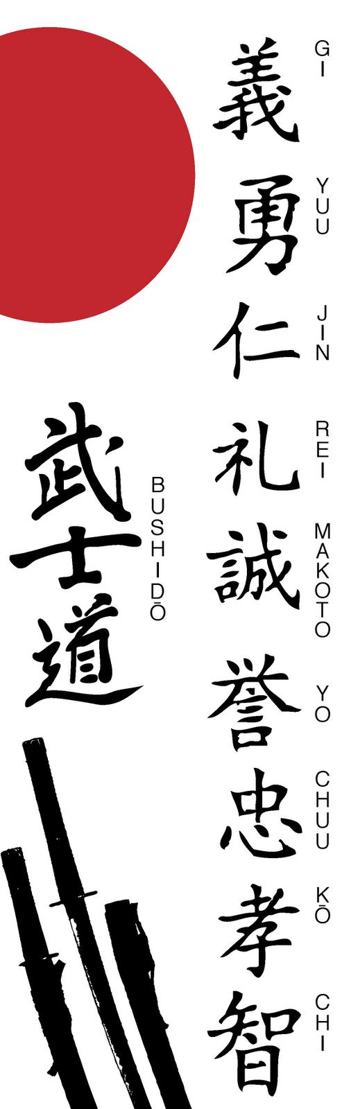 top bushido symbol images for pinterest tattoos. Black Bedroom Furniture Sets. Home Design Ideas