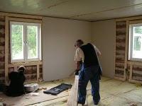 Före bild ....Renovering vardagsrummet snart blivande matsal