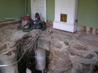 Före bild renovering Vardagsrummet
