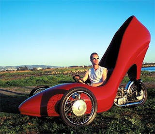 Comfortable High Heel Shoe car