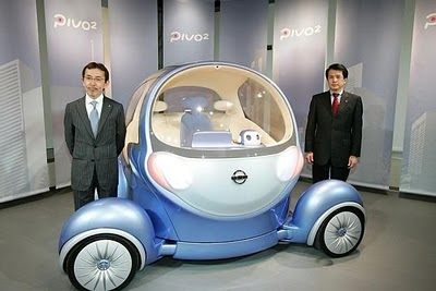 Nissan Pivo 2 electric concept car picture gallery