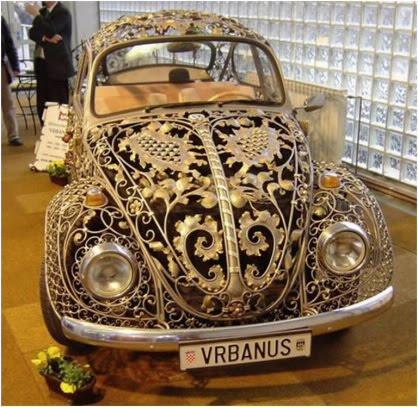 Really weird car design style