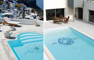 Modern Design Style Swimming Pool Decorations