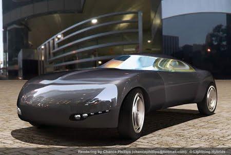 futuristict  biodesel car concept Design