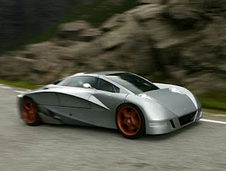 Type Greats Modern Design Aetek FYK futuristic concept car