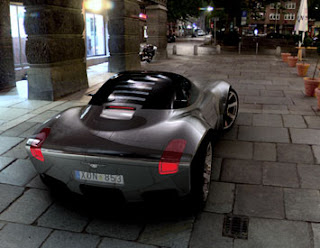Paulin VR concept car futuristic for future