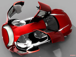 Citroen C-Metisse Concept Car futuristic for future