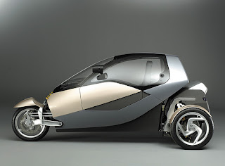 New Famous Design Futuristic Naro and Clever Concept Car