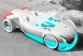 New Famoust Modern design Futuristic Versa-Quatic concept car