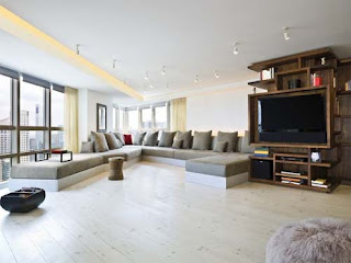nice and beautiful modern design decoration in room