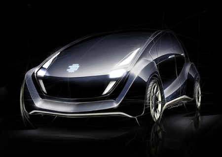 car, concept, engineers, Geneva Motor Show, German, Light Car, OLED-clad, Open Source
