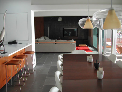 Modern kitchen interior decoration spain