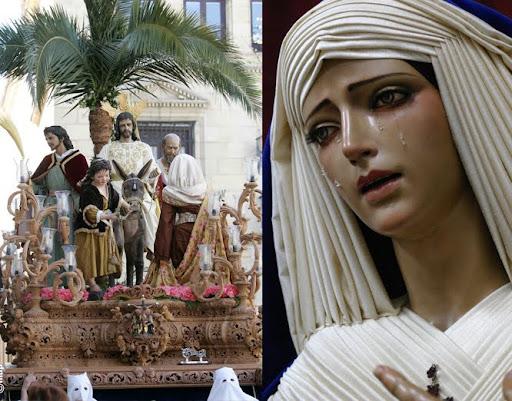 COFRADIA DE LA ENTRADA DE JESÚS EN JERUSALÉN  Y NTRA. SRA. DE LA ESTRELLA ALCALA LA REAL