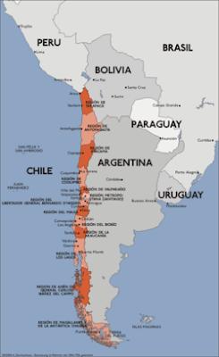 geografia en chile: