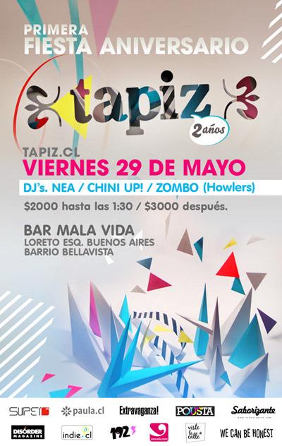 Fiesta 29 de Mayo, Tapiz.cl Loreto