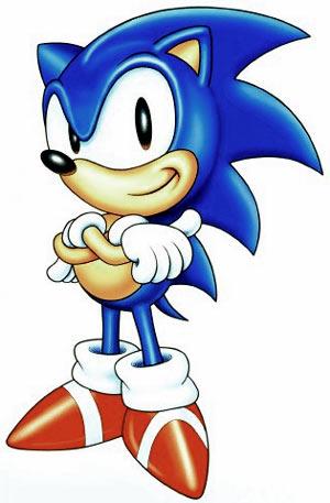 Em uma corrida, quem venceria? (2) Sonic-classic