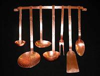 copper kitchen utensils Preguntas y Respuestas