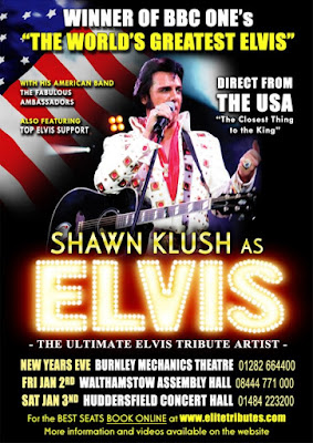 Shawn Klush Tour Dates  Uk