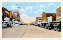 Downtown Chickasha in the good old days