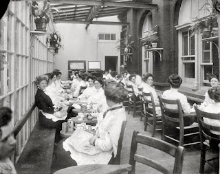 womens lunchroom at the bureau of printing and engraving 1913