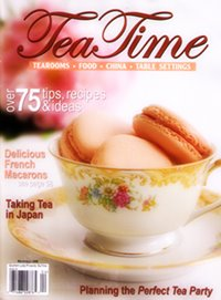 { Risa's feature in TeaTime Magazine }