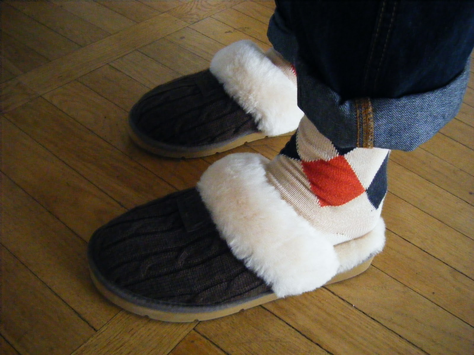 do you wear socks with ugg moccasins
