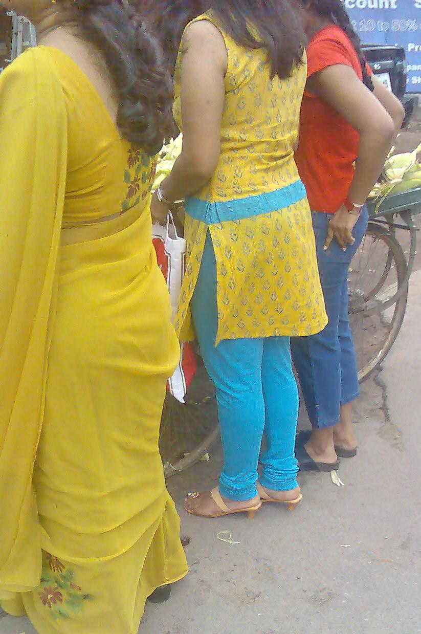 Saree Aunties Blouses Back