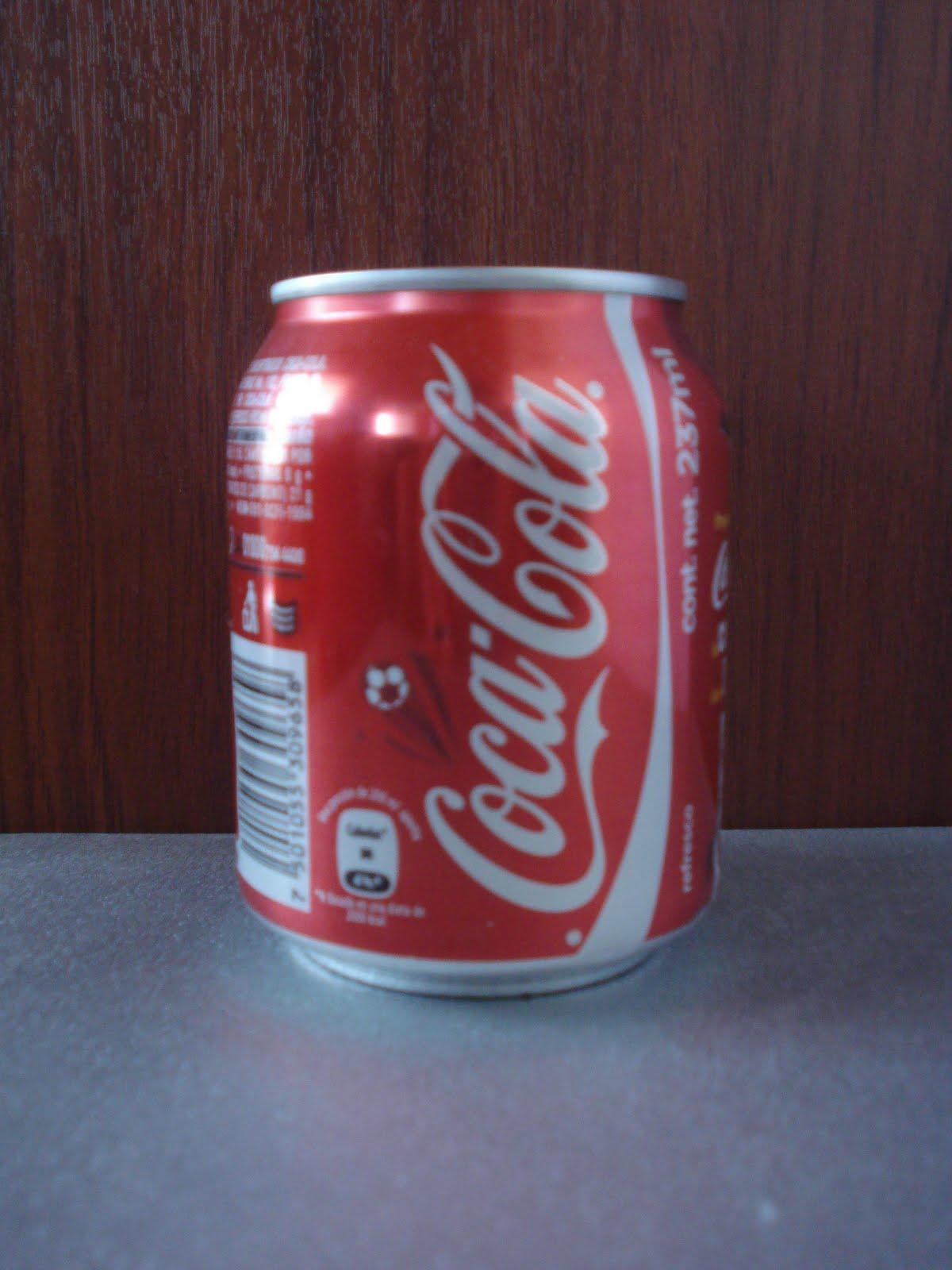 Lata de coca de cracking